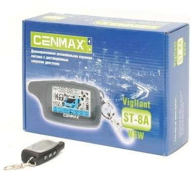 Брелок для а/с CenMax ST-8A (ж/к, ОРИГИНАЛ)