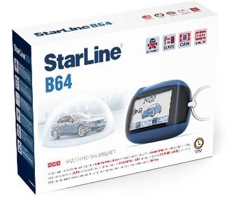 Автосигнализация StarLine B64 2CAN (об/с)
