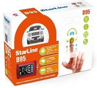 Автосигнализация StarLine D95 BT CAN+LIN GSM-GPS (а/з)