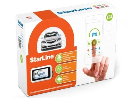 Автосигнализация StarLine E93 2CAN+LIN (а/з)