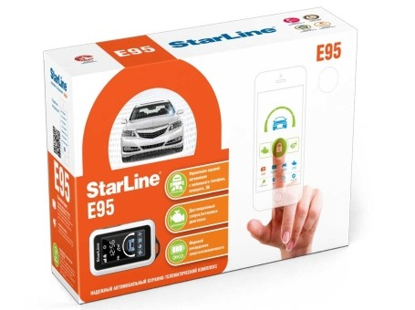 Автосигнализация StarLine E95 BT 2CAN+LIN GSM (а/з)
