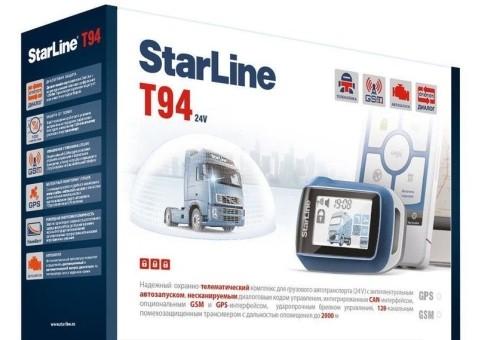 Автосигнализация StarLine Т94 GSM-GPS (а/з)
