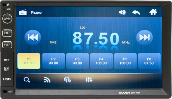 Головное устройство универсальное - SWAT CHR-4100