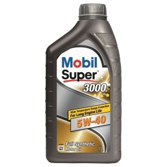 Масло моторное Mobil Super 3000 X1 5W40 (1л)