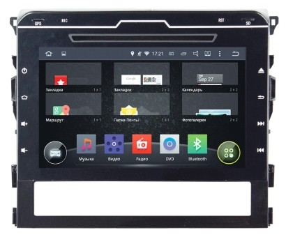 Головное устройство Toyota LC 200 - Incar AHR-2239 (Android)