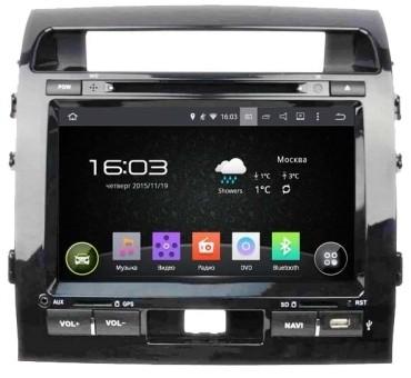 Головное устройство Toyota LC 200 - Incar AHR-2280 (Android)