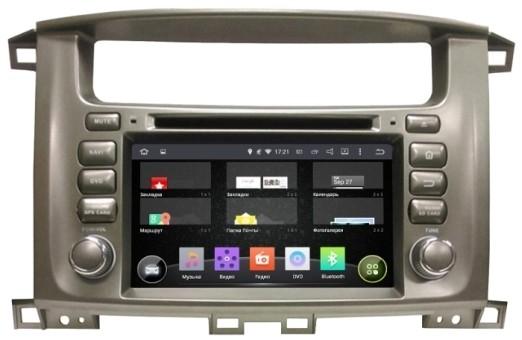 Головное устройство Toyota LC 100  - Incar AHR-2260 (Android)