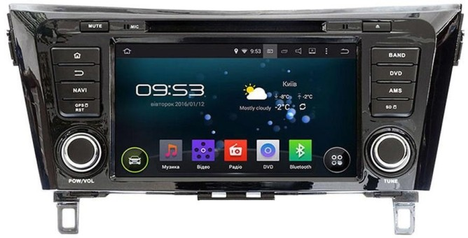 Головное устройство Nissan X-Trail,Qashqai Incar AHR-6282 (Android)