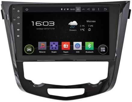 Головное устройство Nissan X-Trail,Qashqai - Incar AHR-6281 (Android)