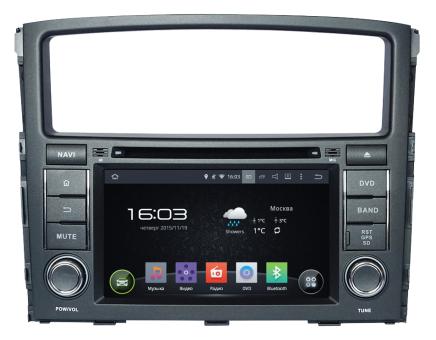 Головное устройство Mitsubishi Pajero IV - Incar AHR-6182 (Android)
