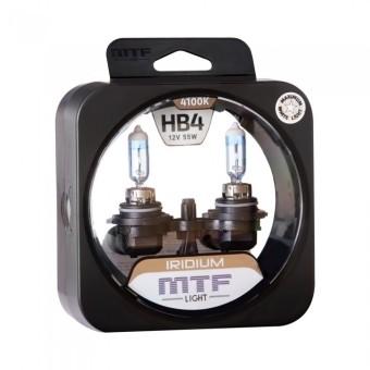 Лампы MTF Iridium HB4 9006 (12v, 55w, HRD12B4, 2шт.)