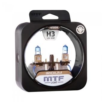 Лампы MTF Iridium H3 (12v, 55w, HRD1203, 2шт.)