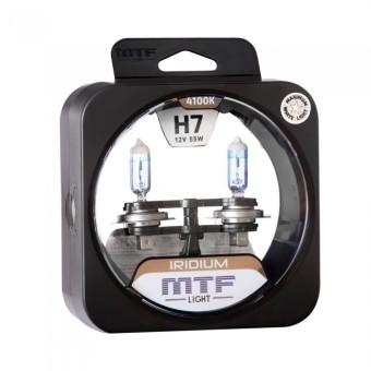 Лампы MTF Iridium H7 (12v, 55w, HRD1207, 2шт.)