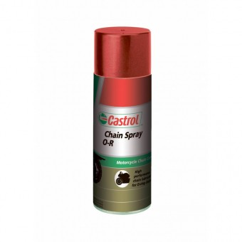 Смазка для цепи мотоцикла Castrol Chain Spray O-R (400 мл)
