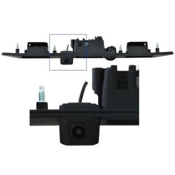 Камера заднего обзора Audi A3,A6,A8,Q7, VW - Incar VDC-047