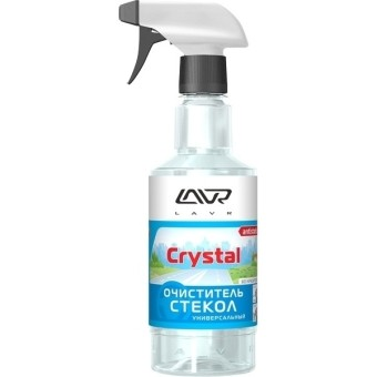 Lavr Ln1601 Очиститель стекол Кристалл (500 мл, триггер)