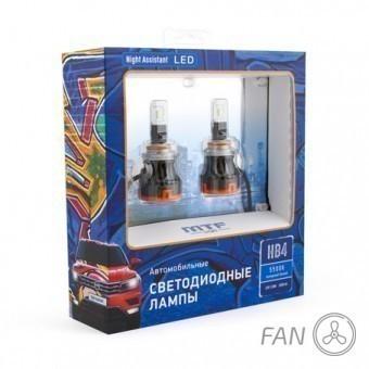 Светодиодные лампы MTF Night Assistant Fan HB4/HIR2 (5500K)