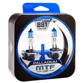 Лампы MTF Palladium H27 881 (12v, 27w, HPA1281, 2шт.)