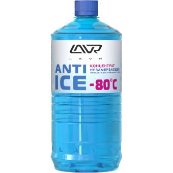 Lavr Ln1324 Концентрат незамерзающей жидкости для омывания стекол (-80, 1л)