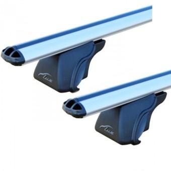 Багажная система Lux Элегант для а/м с рейлингами (120 см, 53мм, аэро)