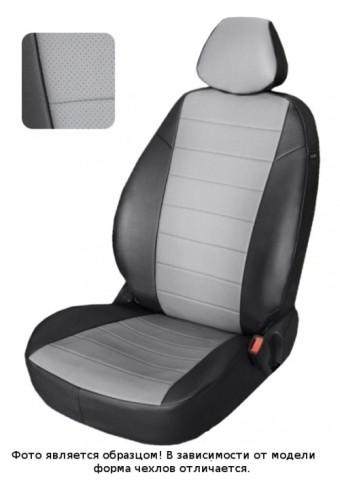 Чехлы  Citroen C4 ->11 H 3-х дверный  чер-сер аригон Автопилот