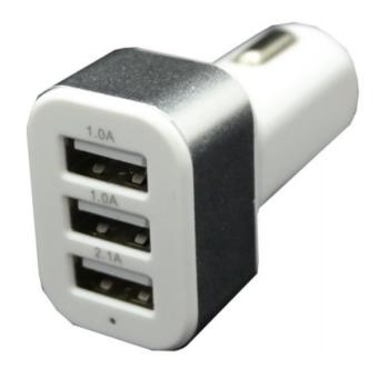Автомобильное зарядное устройство 3 USB Intego C-24