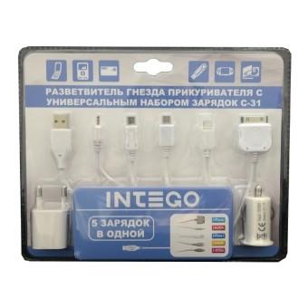 Автомобильное зарядное устройство Intego C-31 (универсальное)