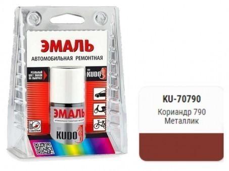 Краска-кисточка KUDO KU-70790 (ВАЗ, 790, кориандр, металлик)