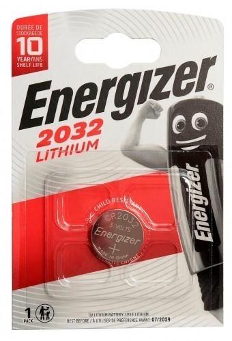 Батарейка CR2032 Energizer Lithium (блистер, 1 шт)