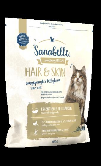 Сухой корм для кошек Sanabelle Hair&Skin, 0,4 кг