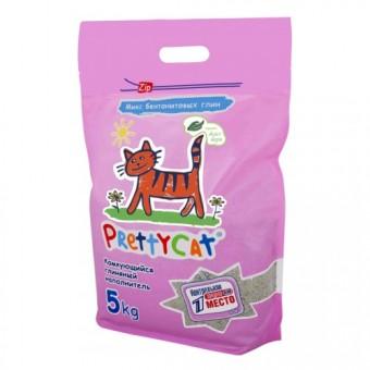 Наполнитель кошачьего туалета Pretty Cat Euro Mix (глиняный, 5,0 кг, без запаха)
