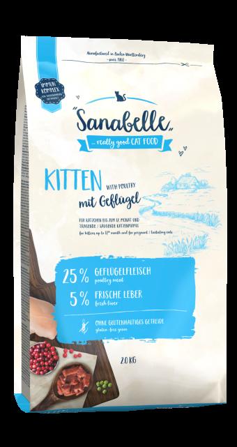 Сухой корм для для котят Sanabelle Kitten NEW, 2 кг