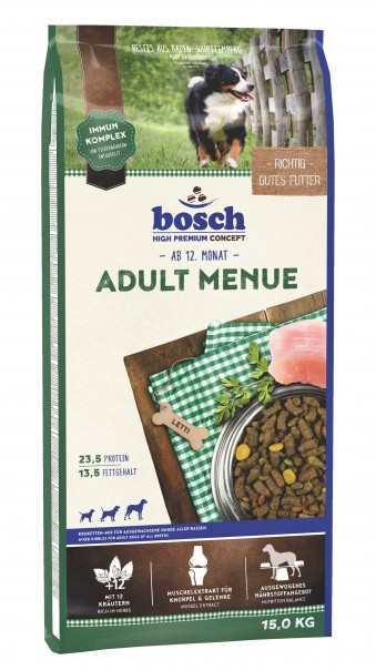 Сухой корм для собак Bosch Menue, 15 кг