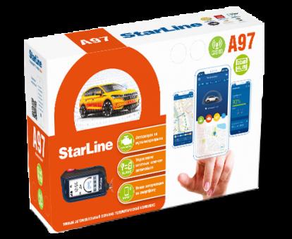 Автосигнализация StarLine A97 3CAN+4LIN GSM  а/з, SIM-карта)
