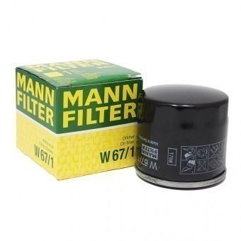 Фильтр масляный MANN-FILTER W 67/1