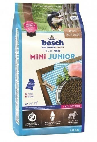 Сухой корм для собак Bosch Mini Junior, 1 кг
