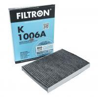 Фильтр салонный Filtron K 1006A (CUK 2862) угольный