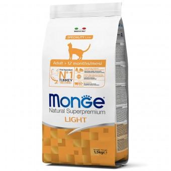 Сухой корм для кошек Monge Speciality Line - Light (1,5 кг)