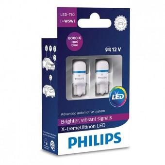 Светодиодные лампы Philips W5W X-tremeUltinon LED (8000K, 2 шт)