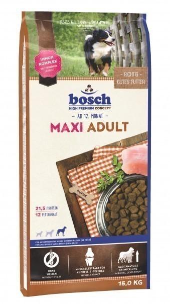 Сухой корм для собак Bosch Maxi Adult , 15 кг