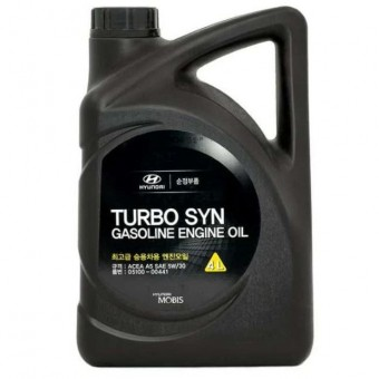 Масло моторное Hyundai Mobis Turbo SYN Gasoline 5W30 (4 л)