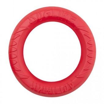 Игрушка DogLike Кольцо восьмигранное (коралловое, диаметр 30,5 см)