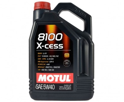 Масло моторное Motul 8100 X-cess 5W40 (5 л)