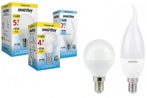 Светодиодные лампы E14 SmartBuy