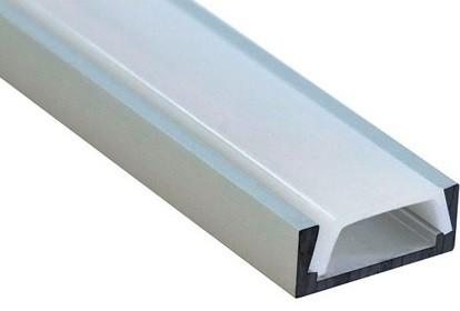 Профиль для светодиодной ленты (накладной, 16x6 мм, 2 м)