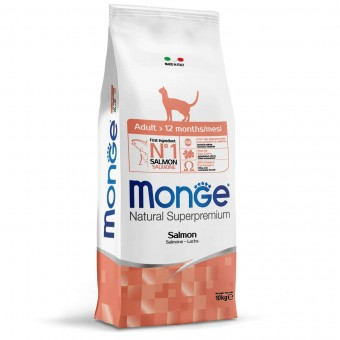 Сухой корм для кошек Monge Speciality Line - Adult Salmon (10 кг)