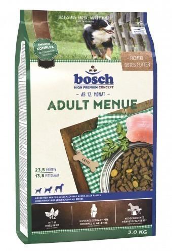 Сухой корм для собак Bosch Menue, 3 кг