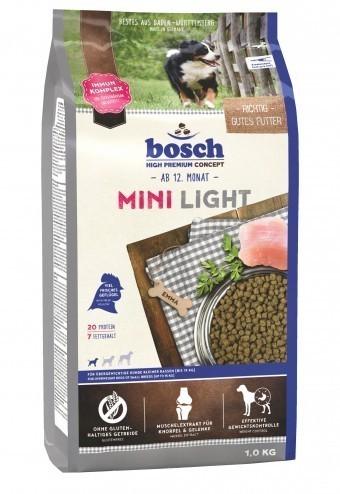 Сухой корм для собак Bosch Mini Light, 1 кг