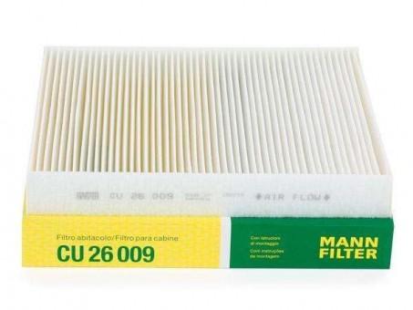 Фильтр салонный MANN-FILTER CU 26 009