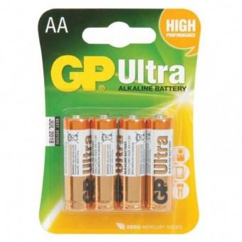 Батарейки AA (LR06) GP Ultra (блистер, 4 шт)